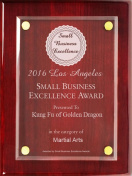 Small Business Excellence Award (2016)